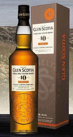 Glen Scotia 10 years peated Single Malt Whisky Campbeltown