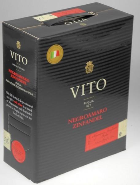 VITO Primitivo Negroamaro Bag in Box 3 Liter