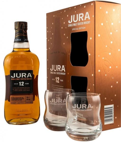 Isle of Jura Geschenkpackung 12 years Single Malt Whisky