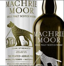Arran Machrie Moor cask strength peated