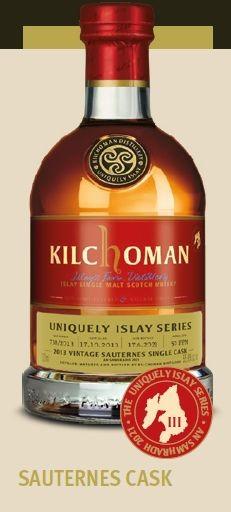 Kilchoman Uniquely Islay Series, Sauternes Cask finish Single Malt