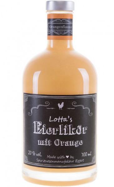 Lottas Eierlikör mit Orange aus der Lüneburger Heide