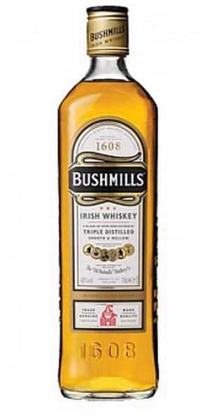 Bushmills Irish Whiskey 0,35l