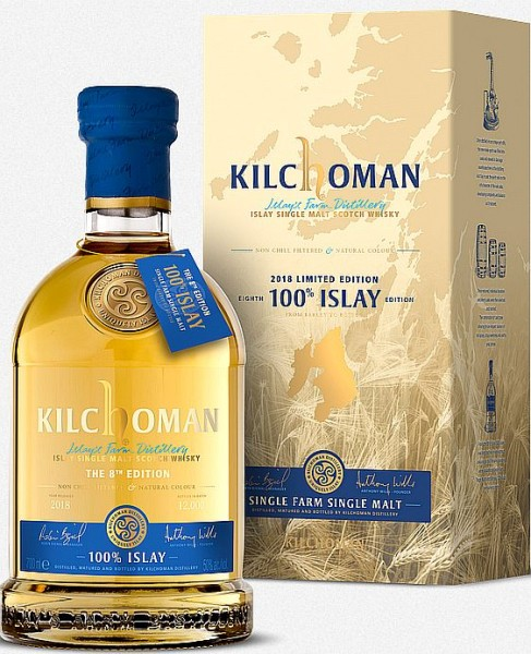 Kilchoman 8th edition 100% Islay single Malt Whisky