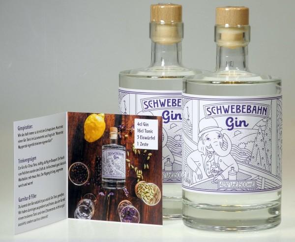 Schwebebahn Gin - die Wuppertaler Geschenkidee