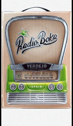 Radio Boca Blanco 3 Liter BOX Verdejo