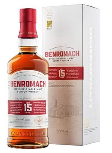 Benromach 15 years Speyside Single Malt Whisky