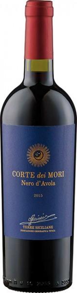 2017er Corte dei Mori Nero d Avola etichetta Blue Rosso sicilia