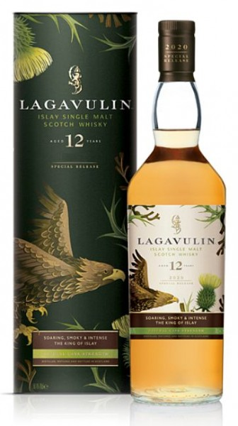 Lagavulin 2019 release 12 years cask strength special Whisky