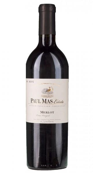 2018er Paul Mas Estate Vineyard Merlot