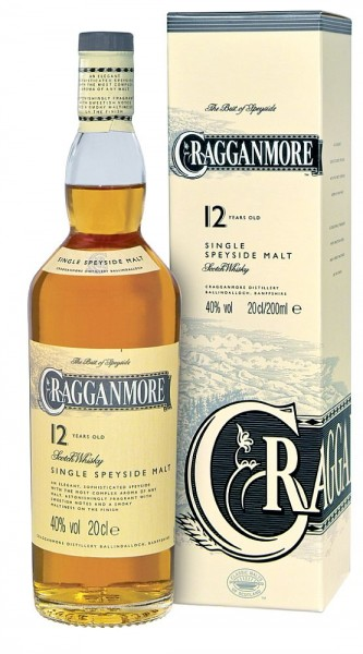 Cragganmore 12 years Speyside Single Malt