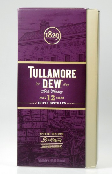 Tullamore 12 Years Irish Whiskey