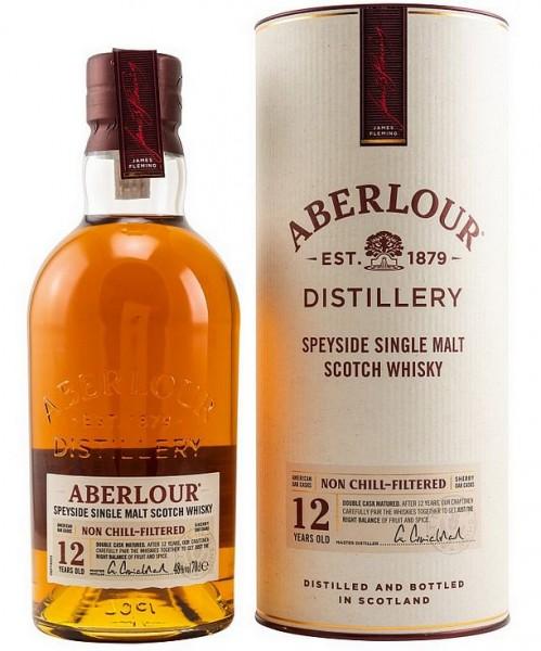 Aberlour 12 years unchillfiltered matured single Malt Whisky