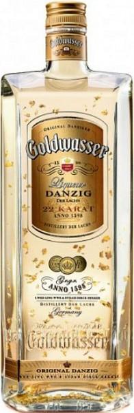Lachs Danziger Goldwasser Likör