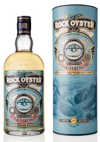 Rock Oyster 2016 Cask strength Island Malt Whisky