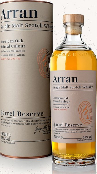 Arran Barrel reserve Single Malt