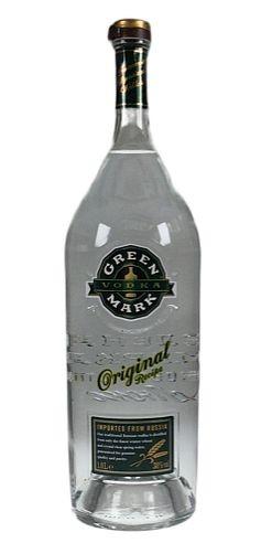 Green Mark Wheat Liter Russian Wodka
