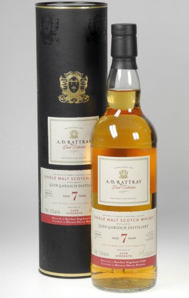 Glen Garion 7 years A.D. Rattray Single Malt Whisky