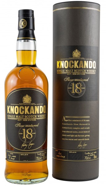 Knockando 18 years old single Malt Whisky