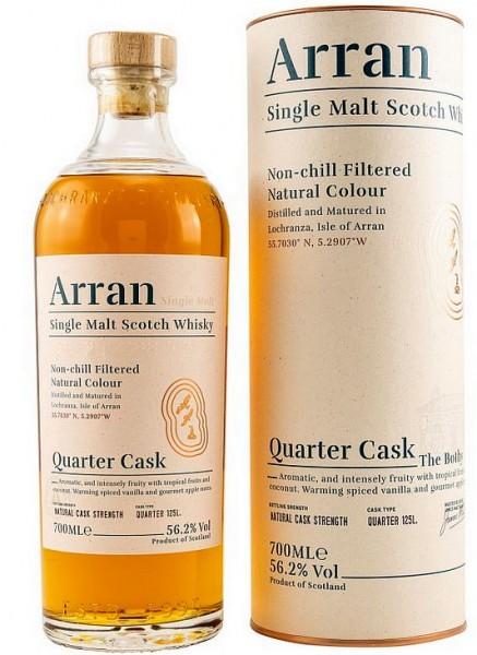 Arran Quarter cask strength Single Malt Whisky