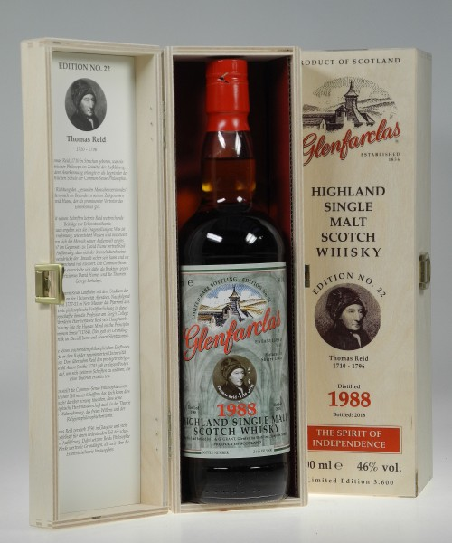"Glenfarclas 1988 Edition 22 ""Thomas Reidt"" Single Malt Whisky"