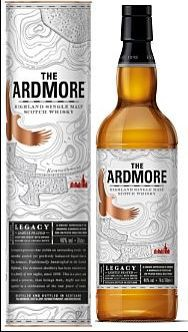 Ardmore Legacy Whisky unchillfiltered Single Malt