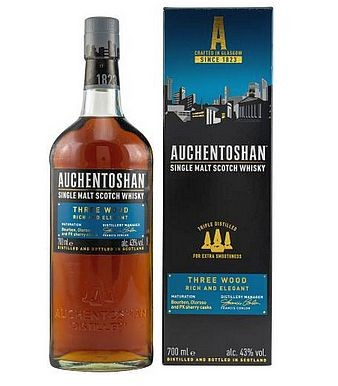 Auchentoshan Three wood Single Malt Whisky Lowland