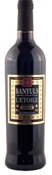 L´Etoile Banyuls Dore rouge doux AOC