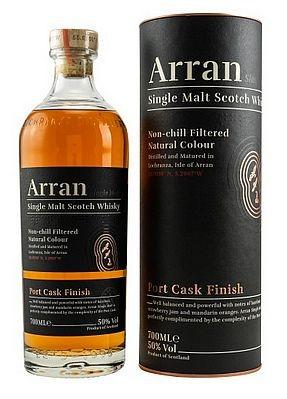 Arran Port Cask Finish Whisky unchillfiltered