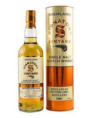 Fettercairn Signatory Single Malt Whisky
