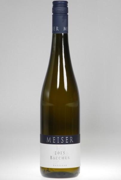 2018er Weingut Meiser Bacchus Spätlese mild