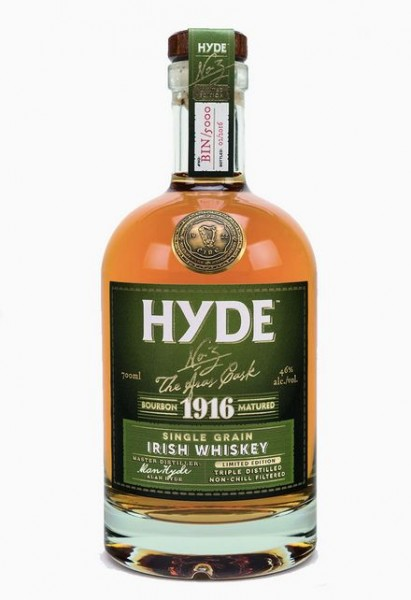 Hyde No 3 Single Grain Bourbon Cask limited Small Batch Irish Whisky