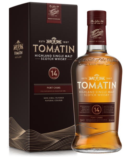 Tomatin Port Cask 14 years Single Malt Whisky