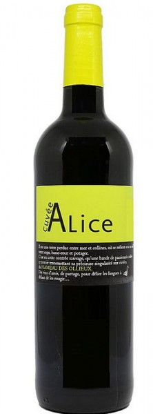 2017er Ollieux Romanis Corbieres Cuvée Alice rouge
