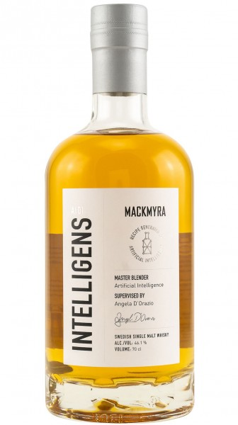 Mackmyra Intelligens AL:01 Whisky Svedish Single Malt