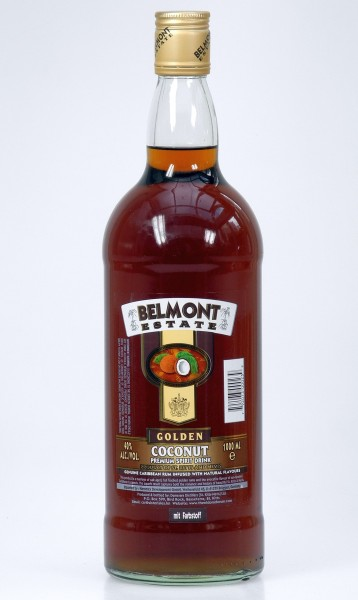 Belmont Estate Golden Coconut Spirituose St. KItts