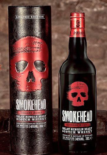 Smokehead, Smokehead Sherry Bomb Release 2019 Peated Scotch Whisky