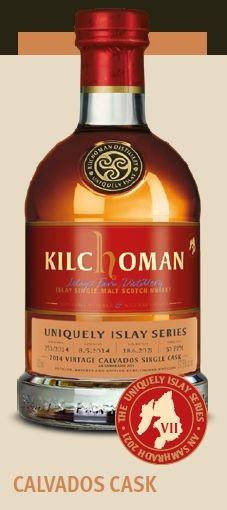 Kilchoman Uniquely Islay Series, Calvados Cask finish Single Malt