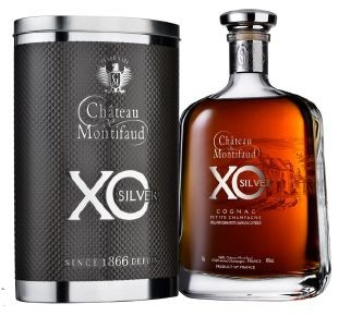Cognac XO Silver Chateau Montifaud Attitude Metallbox