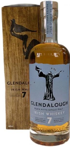 Glendalough Single Malt Irish Whiskey 7years Porter Barrel finish