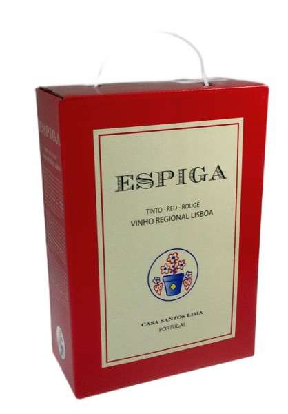 2019er Espiga Tinto Lisboa 3 Liter Bag in Box