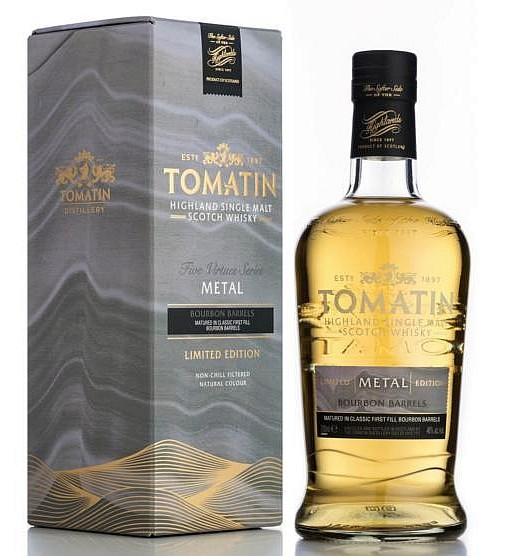 Tomatin Highland Five Virtues - Metall 4. Element Single Malt Whisky