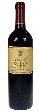 2016er Chateau Bujan Cotes de Bourg Bordeaux