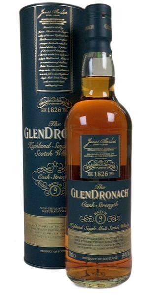 Glendronach Cask Strength batch 9 single Malt