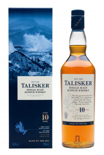Talisker 10 years Single Malt Isle of Skye Whisky