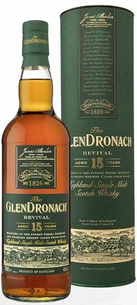 Glendronach 15 years old single Malt