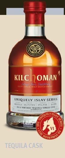 Kilchoman Uniquely Islay Series, Tequilla Cask finish Single Malt