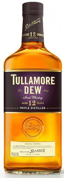 Tullamore 12 Years Irish Whiskey