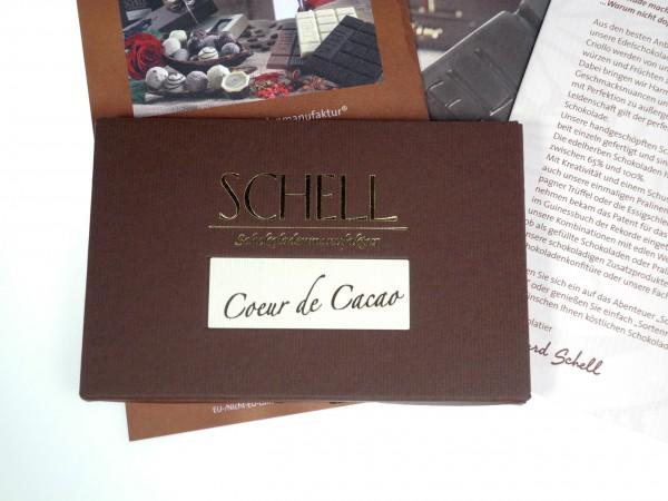 Schell Coeur de Cacao 70% Edelherbe Schokolade