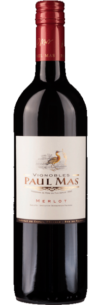 2019er Paul Mas Merlot VdP rouge